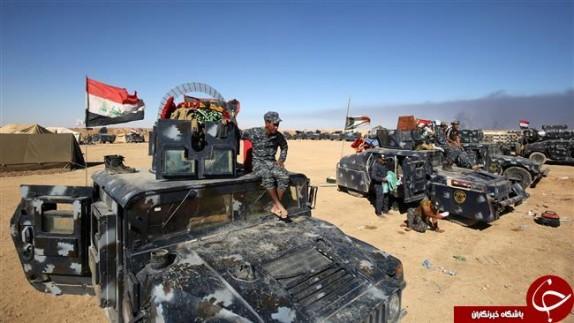 اهداف اولیه عملیات موصل 350 مورد است/ بمباران هوایی شدید مواضع داعش/ نماز وحدت اهالی کراده به شکرانه آغاز عملیات