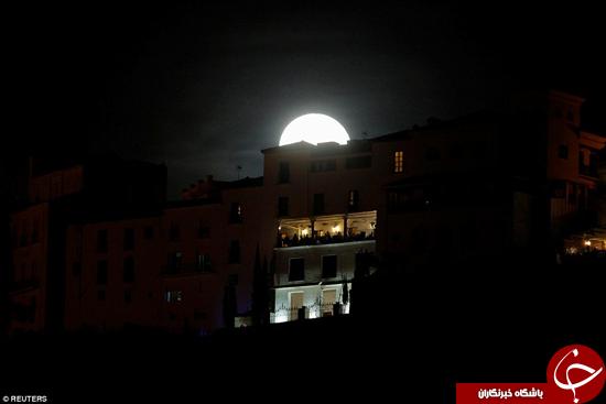 امسال، ماه سه مرتبه به کره زمین نزدیک میشود +تصاویر