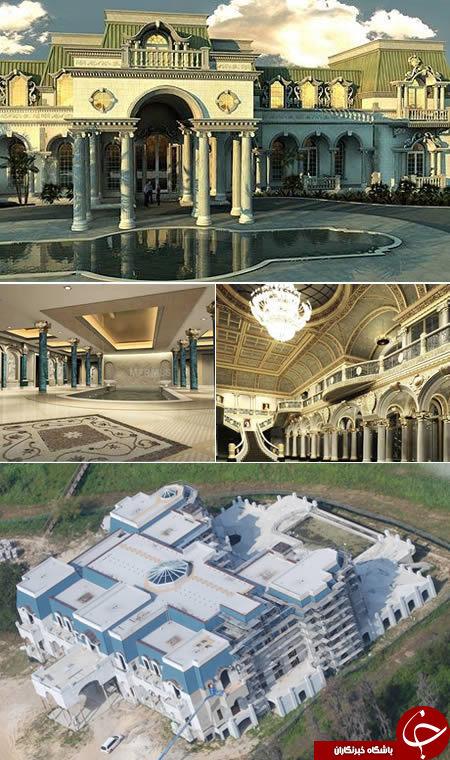 مجلل ترین خانه های جهان+تصاویر