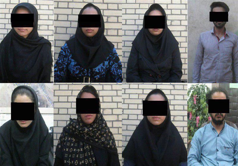 آخرین جزییات از دستگیری عوامل شبکه ابتذال در زاهدان+تصویر