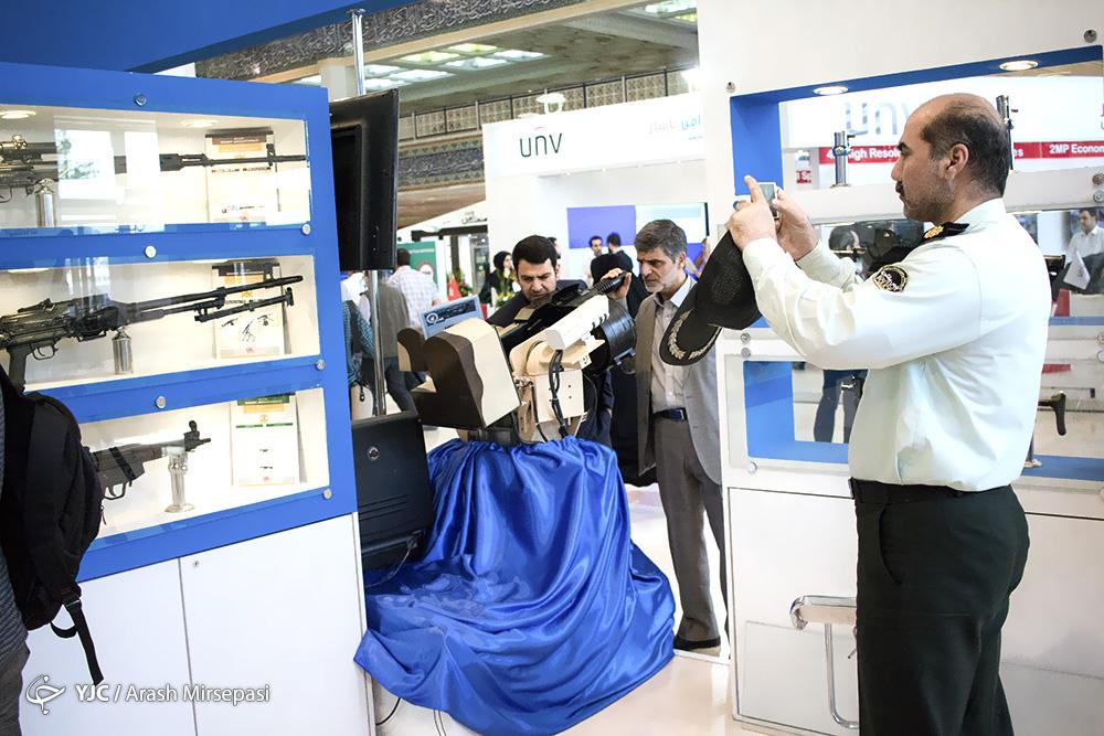 نمایشگاه لوازم و تجهیزات پلیسی در تهران