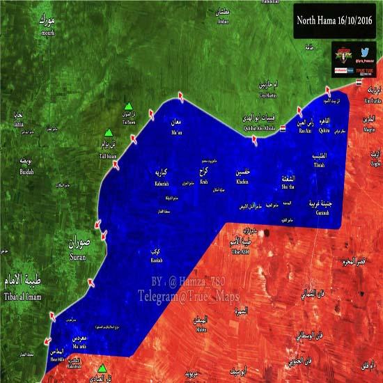 آخرین و ضعیت ارتش سوریه در شمال