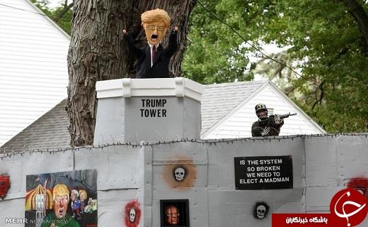 تصاویری از واکنش ها به پدیده ترامپ در کشورهای مختلف!