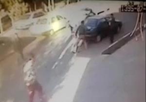لحظه قتل جوان سنندجی با شلیک گلوله + فیلم
