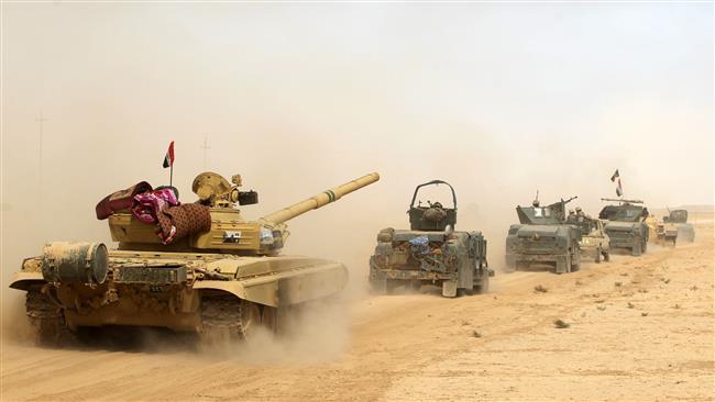 پاسخ رزمندگان عراقی به اظهارات پوچ اوباما درباره غول پوشالی داعش