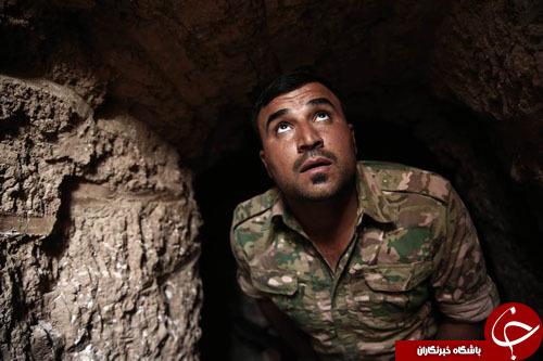 از کشف تونل مخفی تروریستهای داعش در موصل تا تولد یک بچه کرگدن در باغ وحش