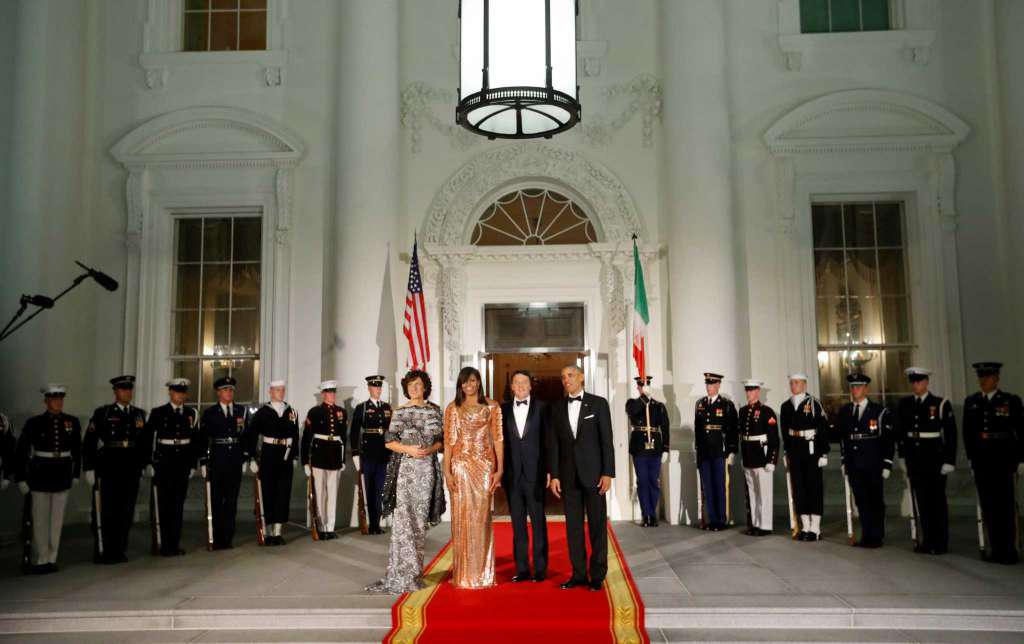 شام آخر اوباما / آخرین میزبانی رئیس جمهور آمریکا در کاخ سفید + تصاویر