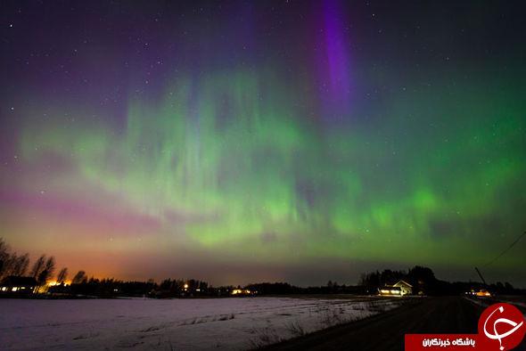 یکی از نادرترین اتفاقات آسمانی +عکس