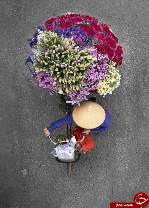 عکس/ فروشندگان خیابانی از زاویهای جدید