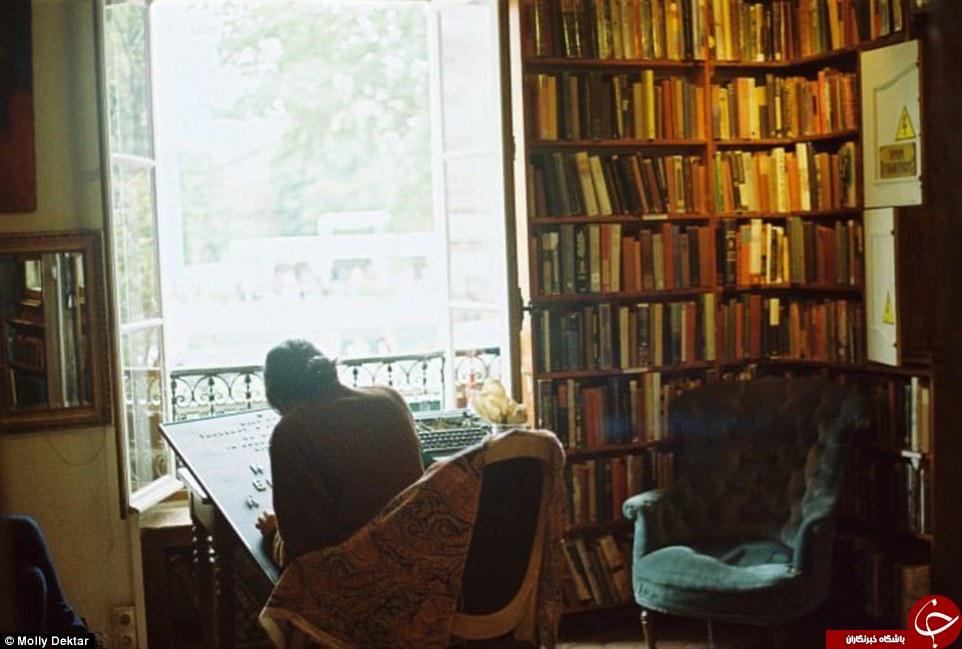 داخل این کتابفروشی می توانید بخوابید + تصاویر////تنها هتل کتابخانه دنیا + تصاویر