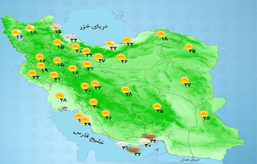بارندگی ها در کدام استان ها شدت می گیرد؟