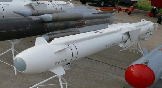 انهدام مواضع داعش و جبههالنصره با موشک «38- X» ارتش روسیه