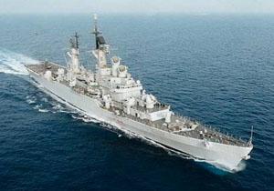 ناو ایتالیایی یورو در اسکلهی منطقه یکم امامت نیروی دریایی ارتش پهلو گرفت