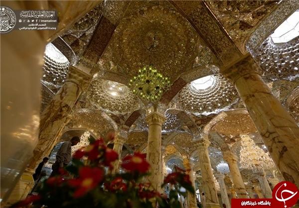 معماری ایرانی - اسلامی در صحن حضرت زهرا (س)+ تصاویر