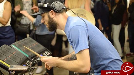 شور و هیجان در مترو +تصاویر