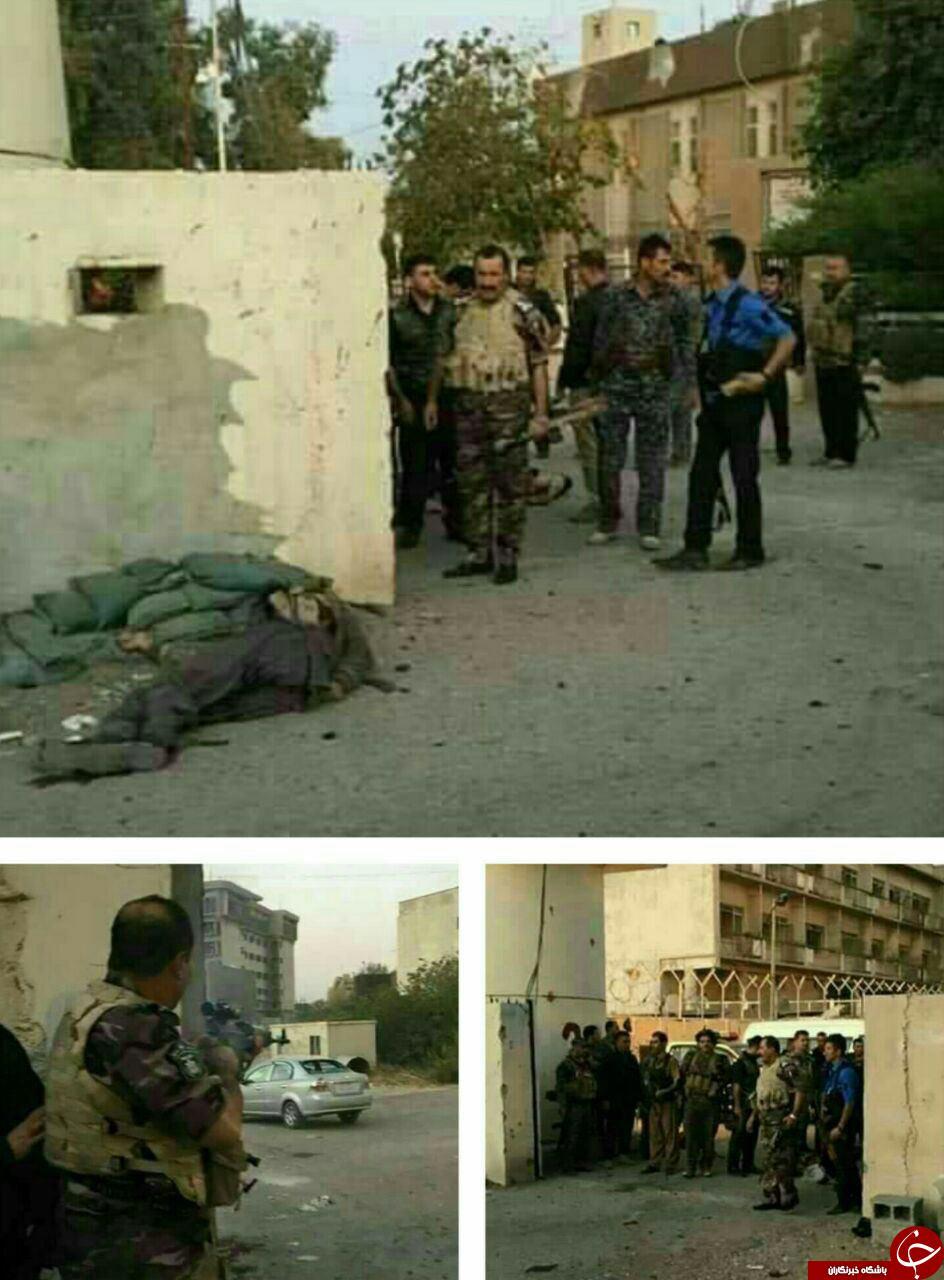 شهادت 4 ایرانی در حمله انتحاری کرکوک عراق