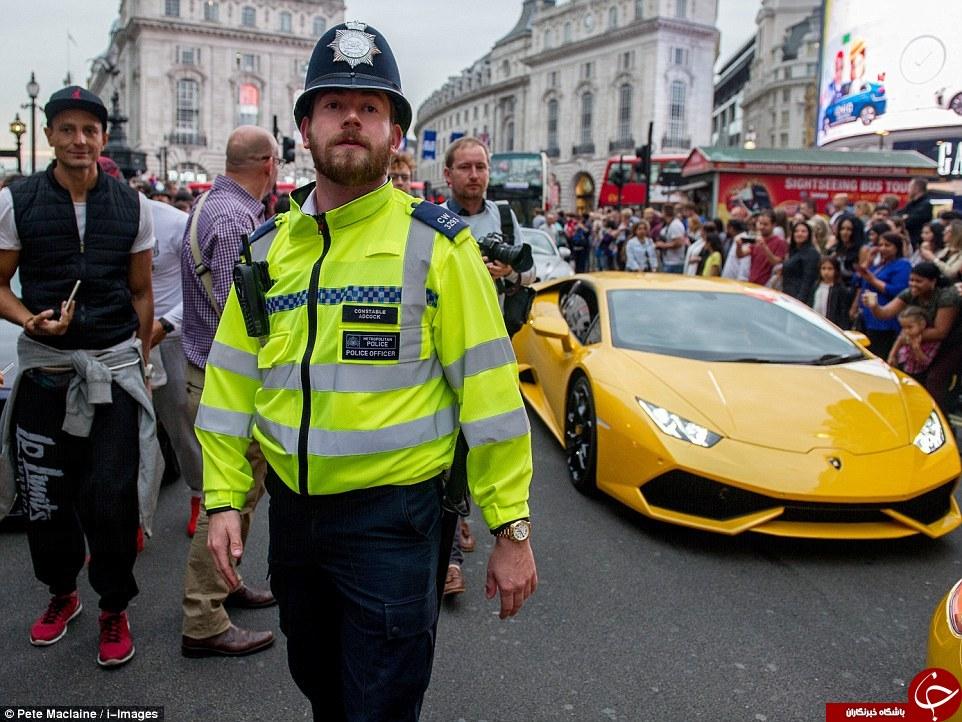 جولان بچهپولدارهای انگلیسی در خیابانهای لندن +تصاویر
