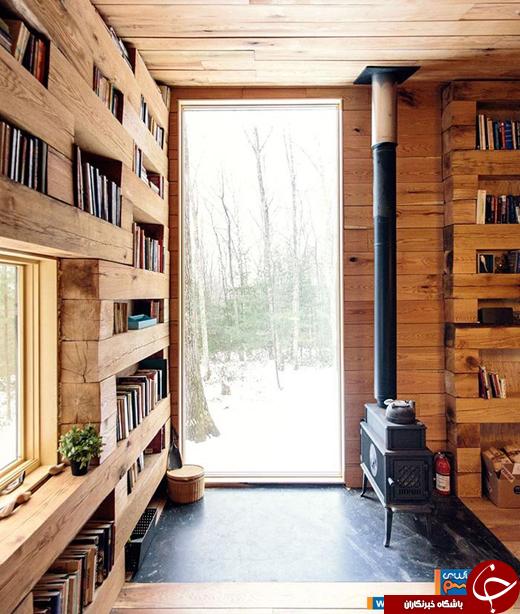 عکس/ اقامتگاهی دنج در دل جنگلهای نیویورک