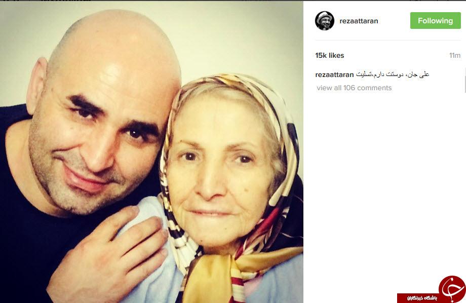 تسلیت اینستاگرامی چهره ها به علی مشهدی +تصاویر