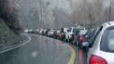 باشگاه خبرنگاران -ترافیک نیمه سنگین  و بارش باران در جادههای کشور
