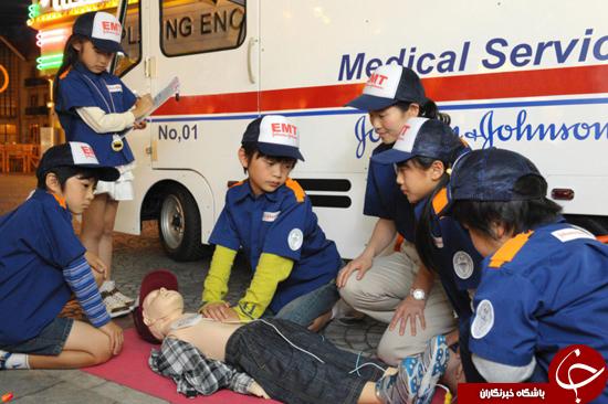 آموزش فوریتهای پزشکی به کودکان +تصاویر