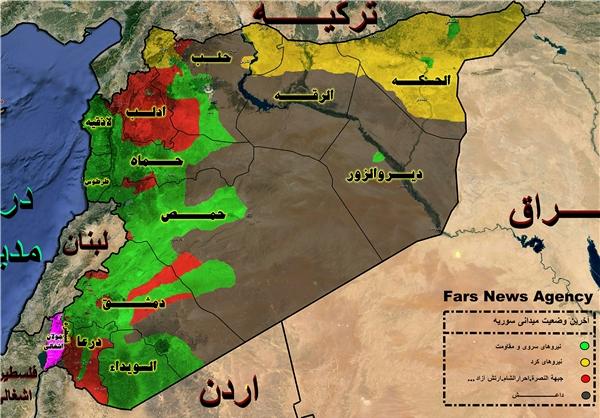 آتشفشان اتاق جنگ دمشق - مسکو در شرق سوریه