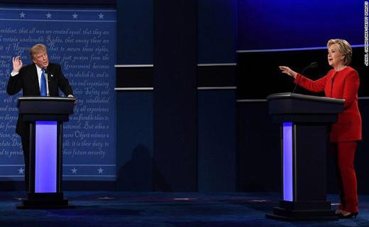 دانلود فیلم کامل اولین مناظره هیلاری کلینتون و دونالد ترامپ دوبله فارسی + متن صحبت ها