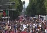باشگاه خبرنگاران - راهپیمایی اعتراض آمیز والدین 43 دانشجوی ناپدید شده + فیلم