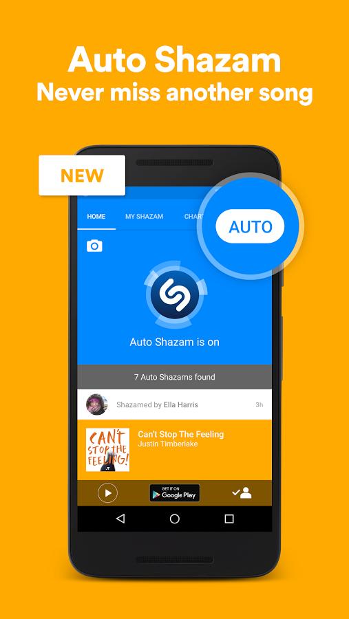 دانلود Shazam Encore 7.1.0-160923 – یافتن خواننده موزیک اندروید!
