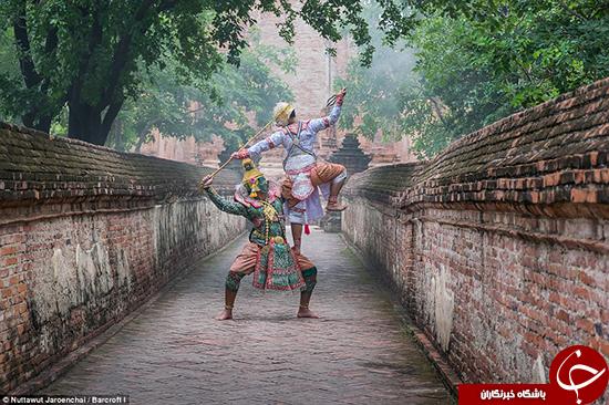 مراسم سنتی تایلندی را ببینید +تصاویر
