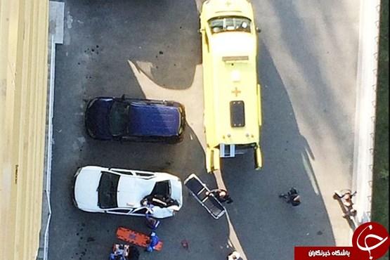 پسر ۱۶ ساله پس از سقوط از برج زنده ماند! +عکس