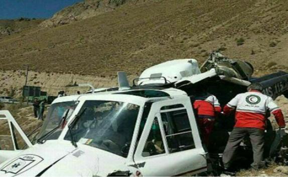 باشگاه خبرنگاران - فیلم دیده نشده از سقوط خونین هلیکوپتر در جاده هراز!