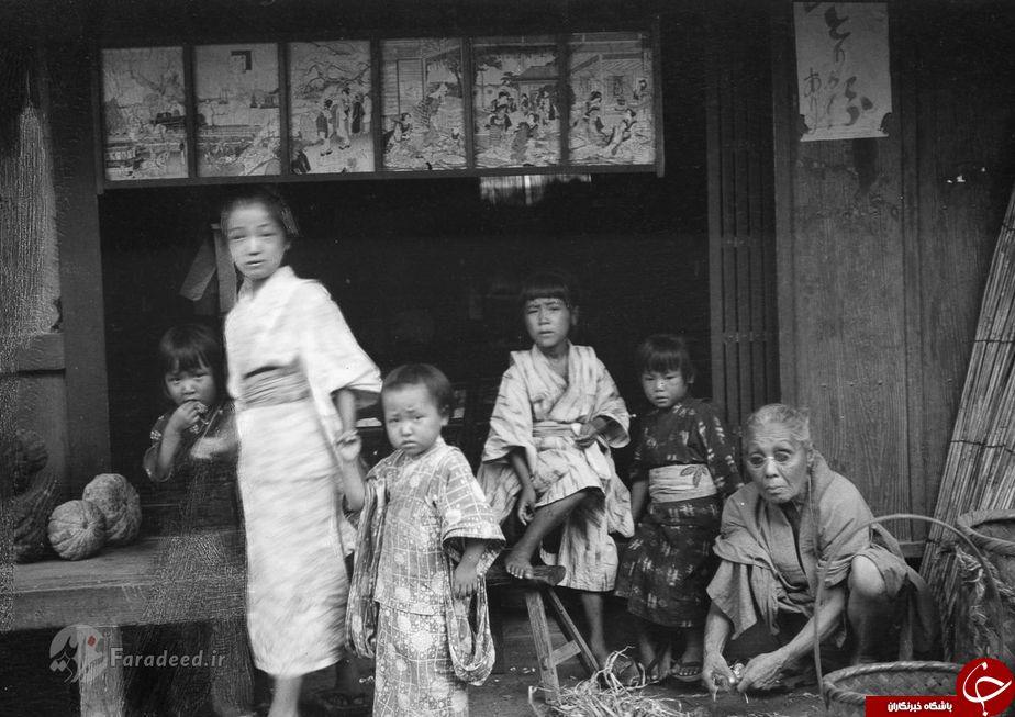 تصاویر/ ژاپن صد سال پیش چه شکلی بود؟