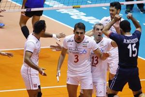 ایران 3 – چین یک / بلندقامتان والیبال، روی سکوی نخست AVC کاپ