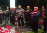 باشگاه خبرنگاران - عزاداری بر سر مزار مرحوم هادی نوروزی + فیلم