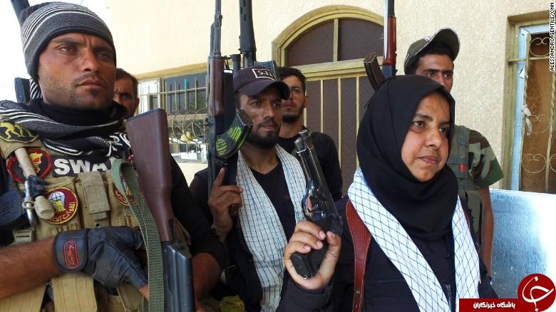 سیانان: زن خانهدار عراقی که سر عناصر داعش را میپزد! +تصاویر