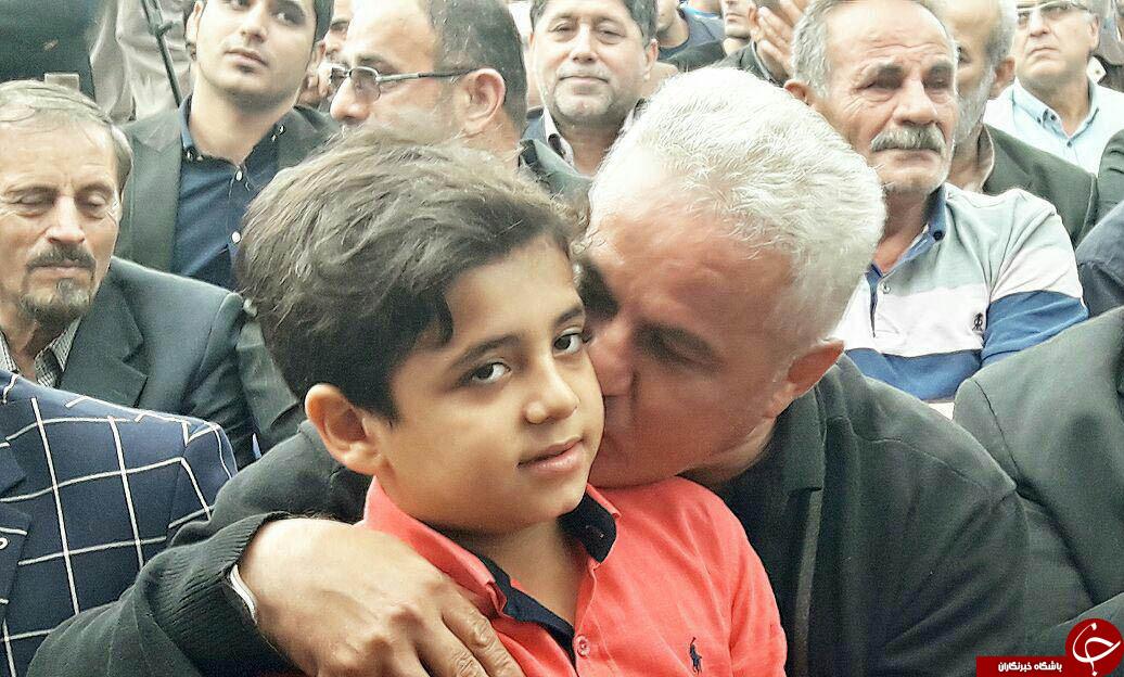 مراسم نخستین سالروز درگذشت کاپیتان فقید پرسپولیس+ تصاویر و حواشی