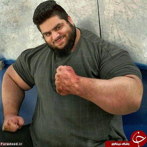 هالک ایرانی در راه رینگ کشتیکج آمریکا