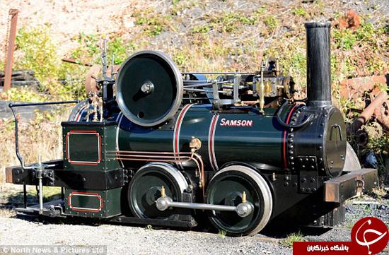 دوبارهسازی اولین موتور بخار +تصاویر