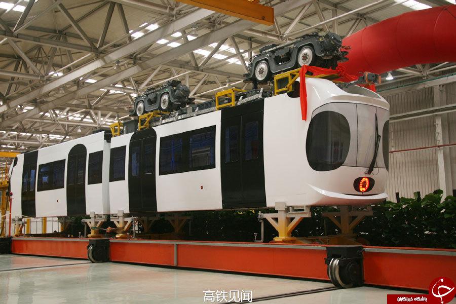 قطار هوایی چین سال اینده شروع به کار میکند