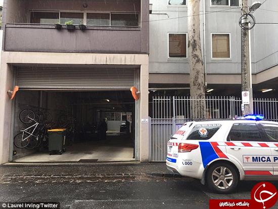 سقوط زن و مرد ملبورنی از بالای ساختمان 10 متری +تصاویر