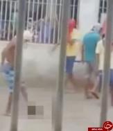 فوتبال با سر بریده شده توسط زندانیانی در برزیل+فیلم (+20)