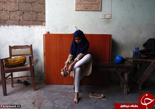 باشگاه مشتزنی دختران +تصاویر