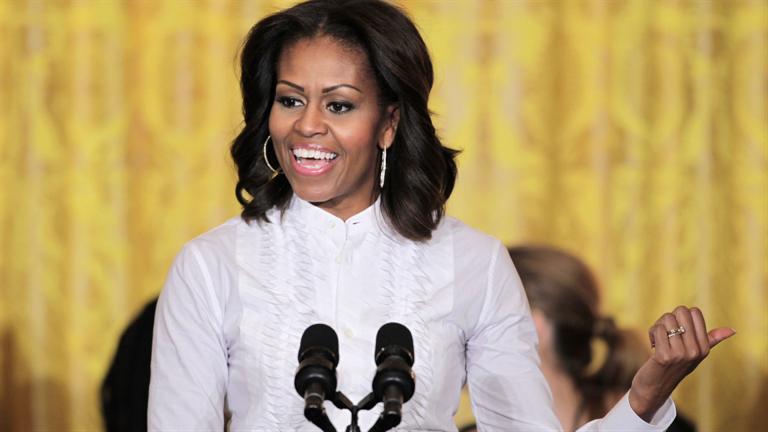 میشل اوباما: هیلاری کلینتون برای ریاست جمهوری، از باراک اوباما و بیل کلینتون شایستهتر است