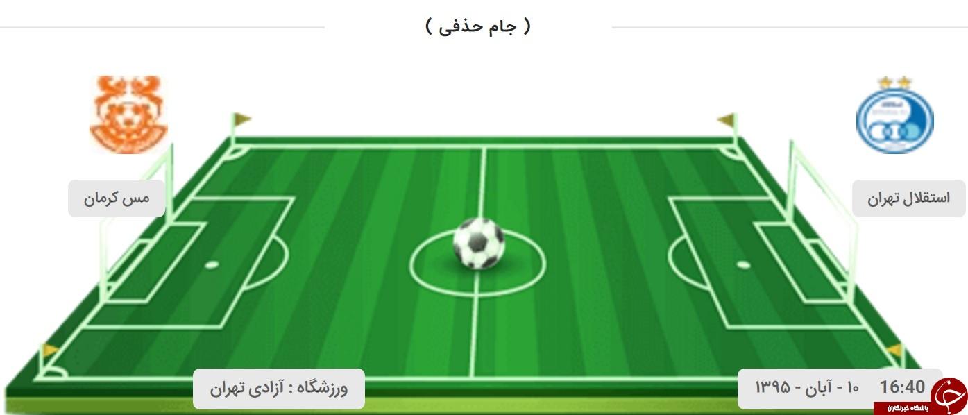 استقلال 0 مس کرمان 0