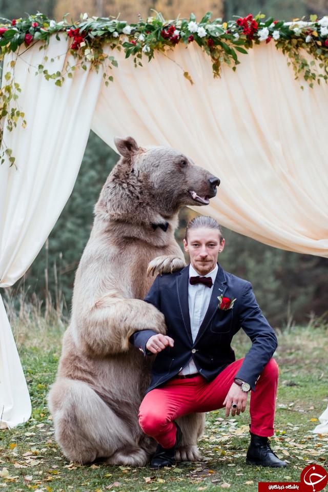 عجیب ترین و دلهره آورترین مراسم عروسی جهان +تصاویر