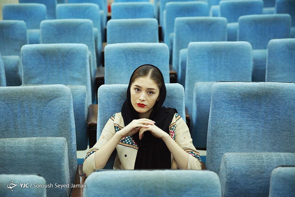 بازیگر زن افغانستانی فرشته حسینی