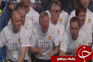 ۵ لحظه جالب از ترس ناگهانی ستارگان فوتبال + فیلم