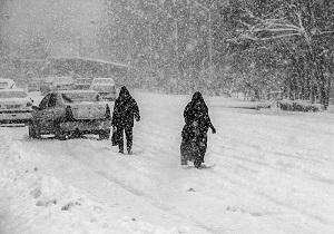 آمادهباش کامل برای مقابله با موج دوم بحران برف در اردبیل