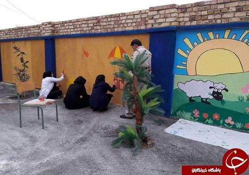 دانشجویان به کمک دانش آموزان استثنایی آمدند